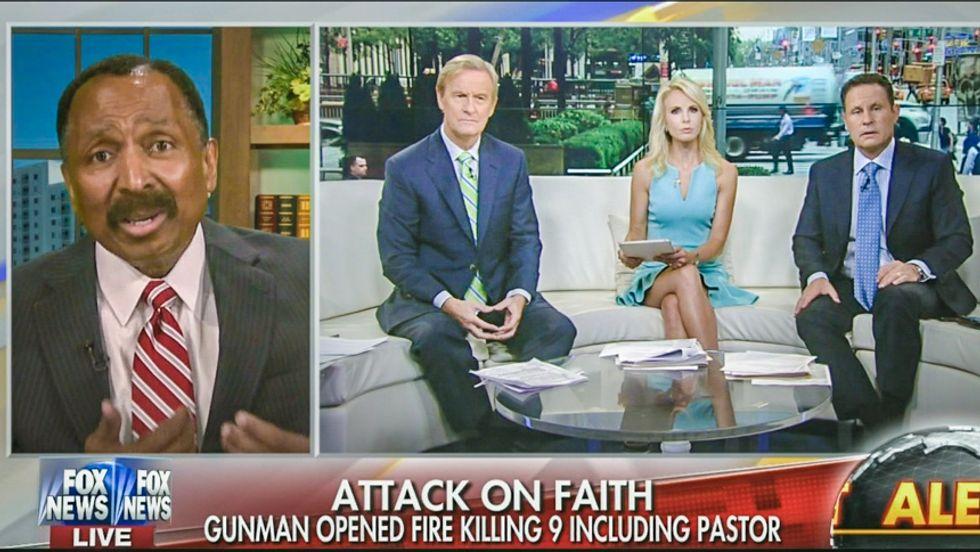 Pro-gun pastor tells Fox: 'Hate crime' means shooter is prejudiced against 'biblical views' -- not race