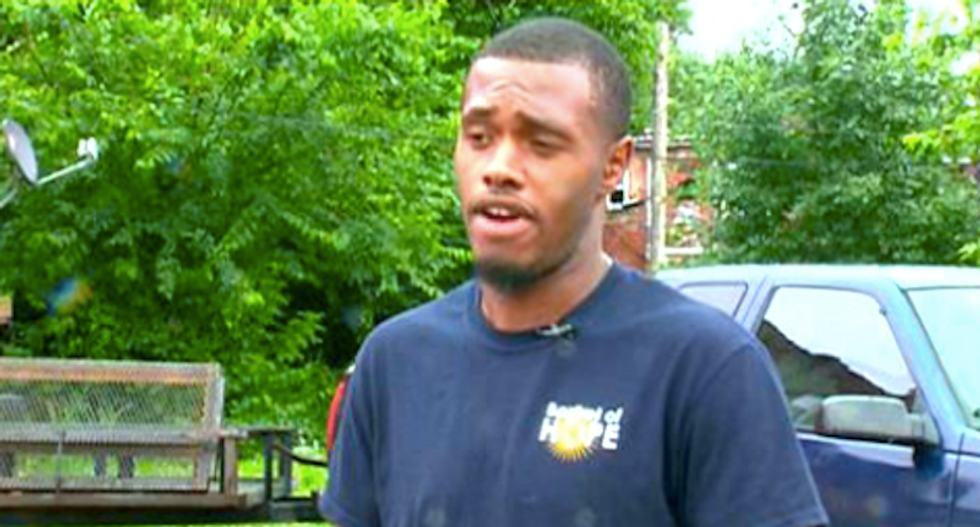 Black man says Missouri cop called himself a 'racist white guy' while playing with his gun during arrest