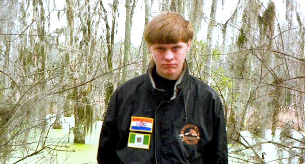 Dylann Roof posted on neo-Nazi site and lived in same town as 'white genocide' mentor
