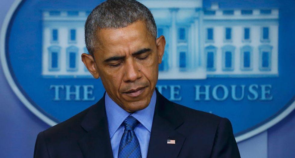 Obama angry over 'senseless' Charleston murders, says gun violence happens too often in US