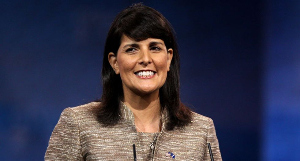 Racists cry bitter tears on Nikki Haley's Facebook page after SC votes to take down Confederate flag
