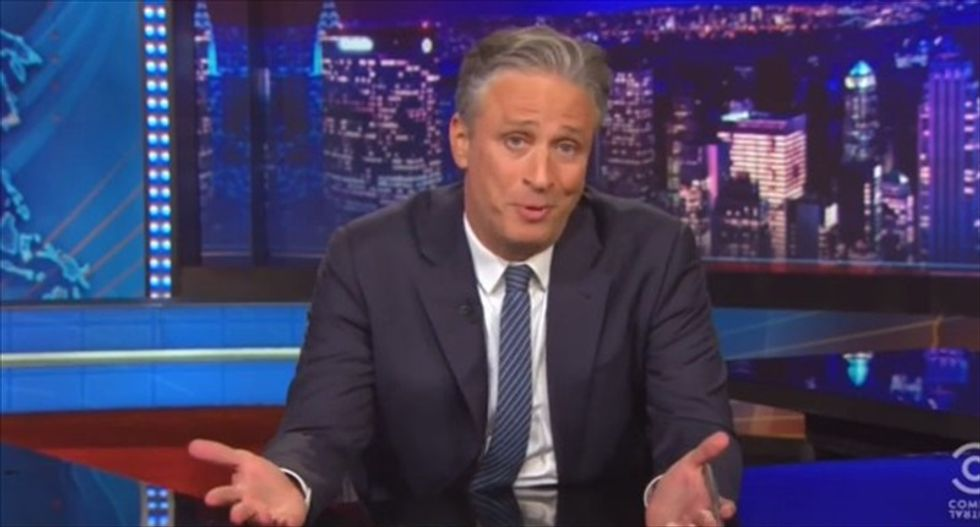 'I got nothin' for you': An emotional Jon Stewart puts the jokes aside to discuss racism in America