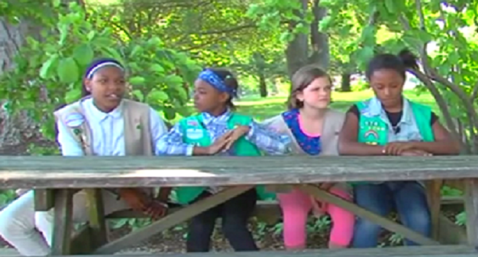 Adults taunt Girl Scouts with racist insults for speaking out against animal abuse at Maryland public meeting