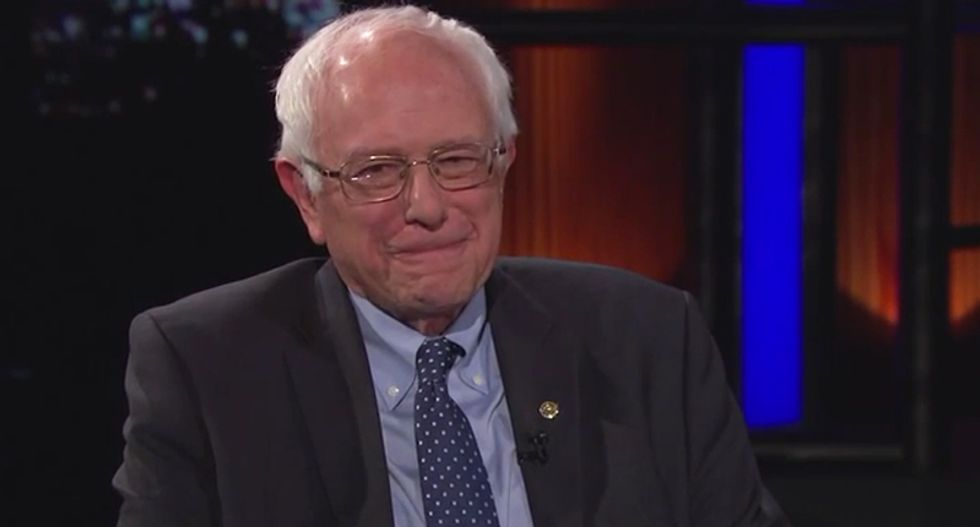 Maher tells Bernie Sanders: Your campaign must be working 'You've got Hillary talking like Elizabeth Warren'