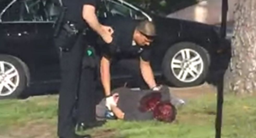 GRAPHIC VIDEO: Man in critical condition after being shot by LAPD officer was unarmed