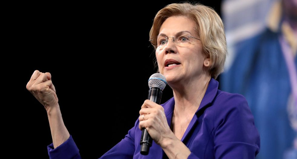 Elizabeth Warren: Trump is a white supremacist -- and does 'everything he can to stir up hatred'
