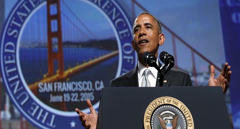 Obama blames gun lobby 'grip' on Congress for lax US gun laws