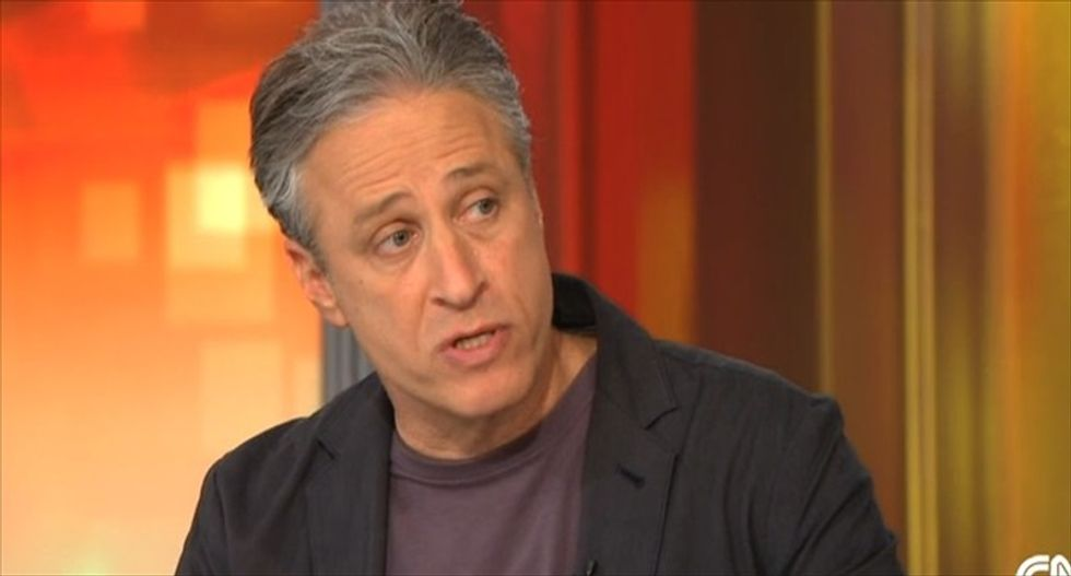 Jon Stewart is producing a documentary about Syrian refugees -- watch the trailer here