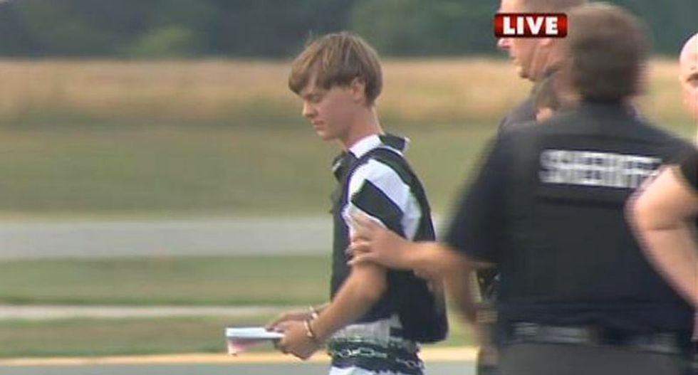 Dylann Roof confesses to attack on historic Charleston church -- wanted to start a race war