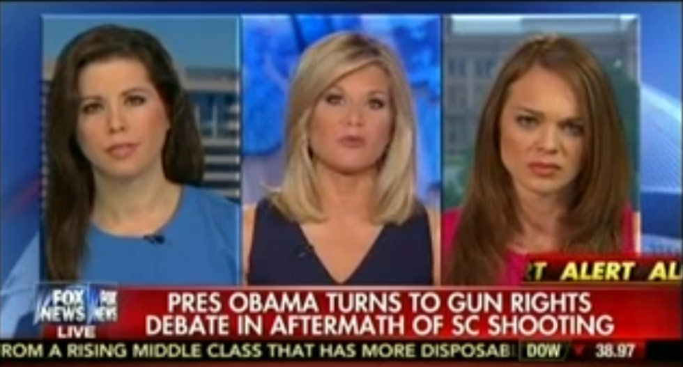 Fox News host blames mass shootings on 'different cultures' living together in America