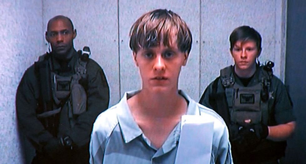 'Hate won't win': Watch as family of Charleston victims confront Dylann Roof at bond hearing