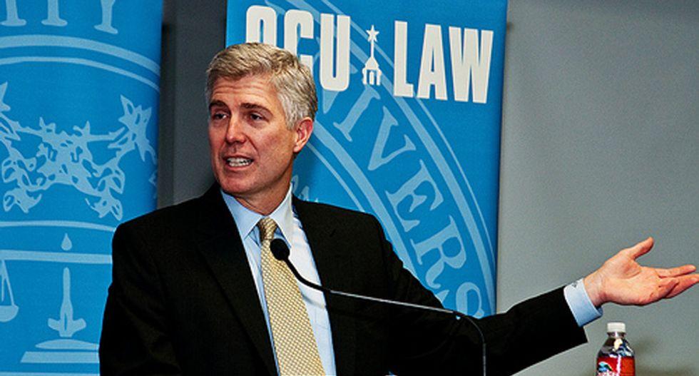 Trump names conservative judge Gorsuch as US Supreme Court pick