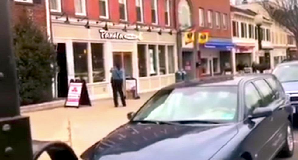 Police surround gunman inside Panera Bread at Princeton University
