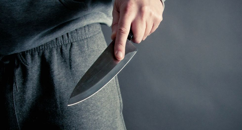 Man stabbed outside UK interior ministry