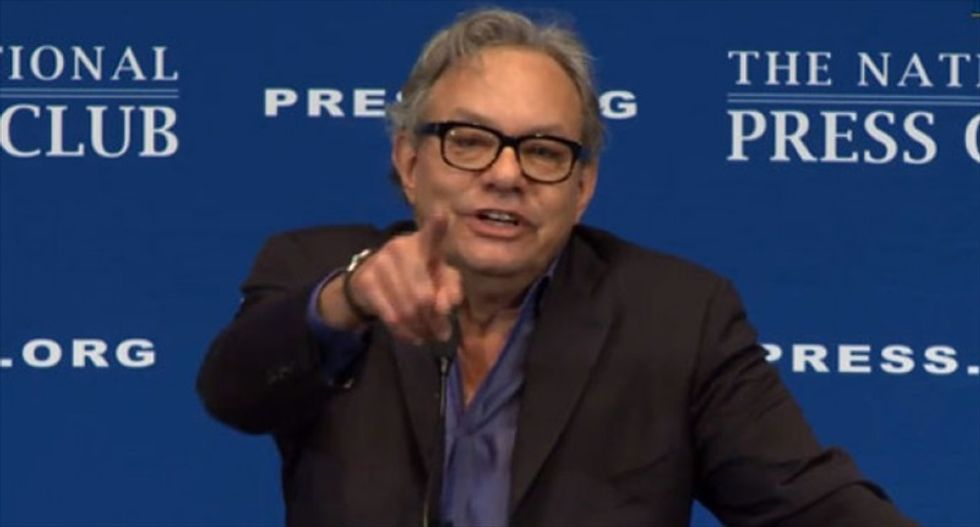 Lewis Black backs Bernie Sanders — and says Donald Trump's candidacy is 'already a punchline'