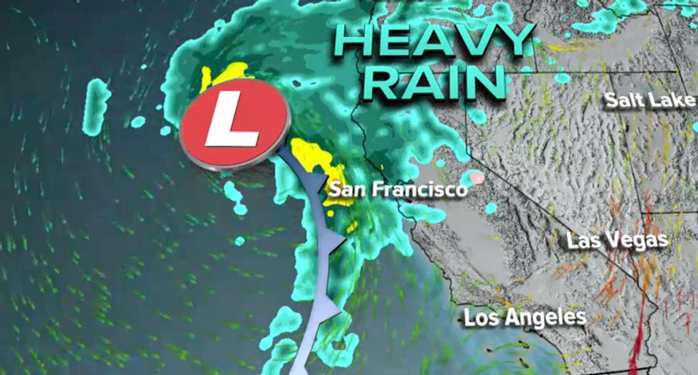 California devastated by 'atmospheric rivers' of precipitation — and could be hit with 30 inches of snow by Friday