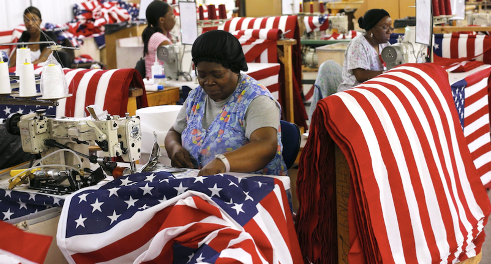 Flag maker's mostly black employees relieved company will stop producing Confederate flags