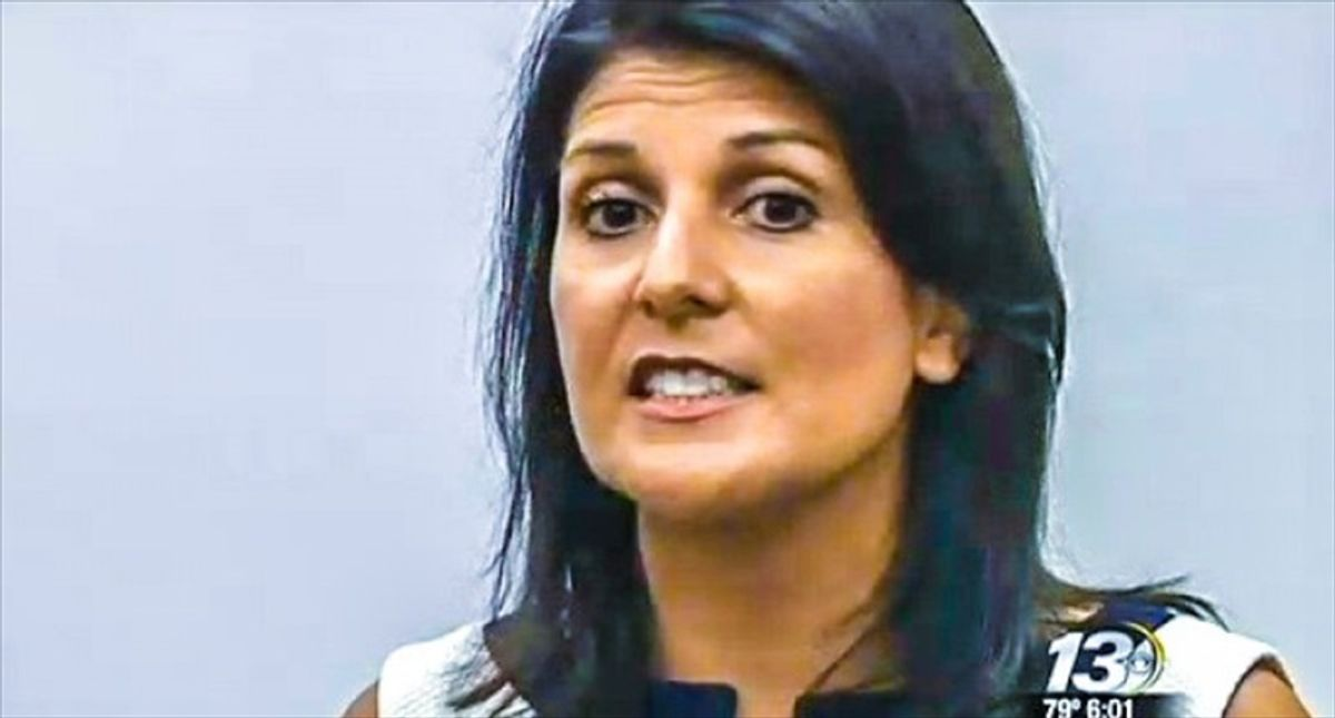 'Why broadcast your ignorance?': Nikki Haley slammed for claiming 'kids don't see color' after saying she was bullied