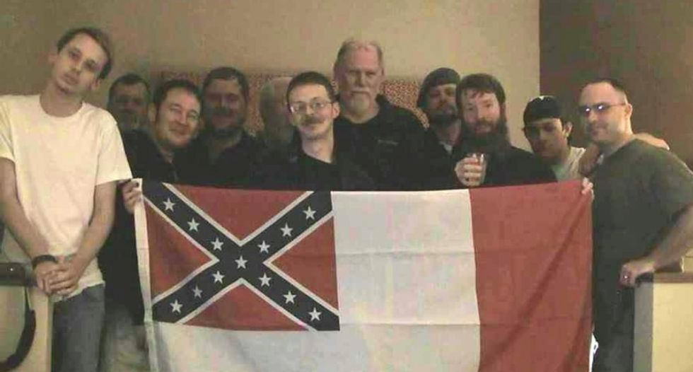 Fired racist Alabama cop tries to cash in with support from Confederate group