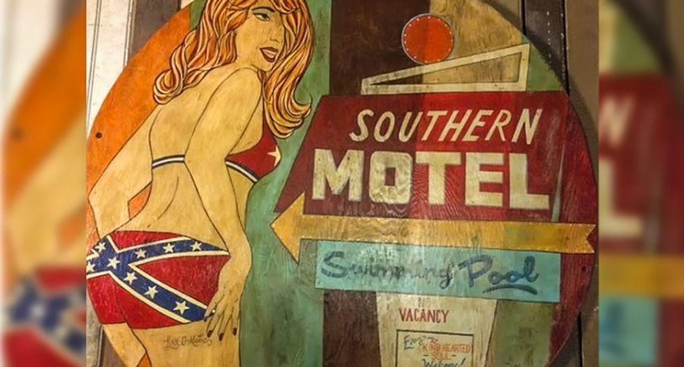 Restaurant backed by Nashville mayoral candidate removes Confederate flag bikini artwork