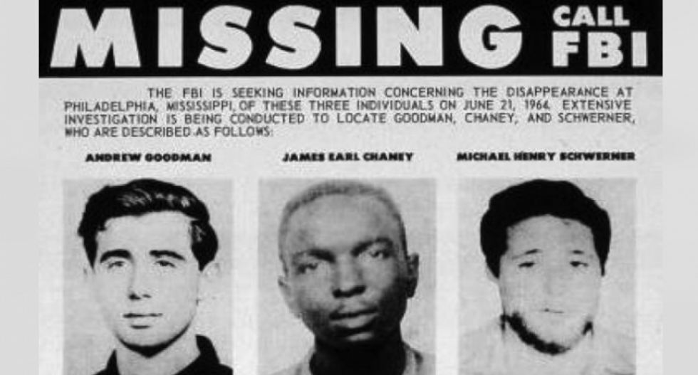 Today in History: the KKK murder of three Civil Rights workers and the targeting of Black Churches