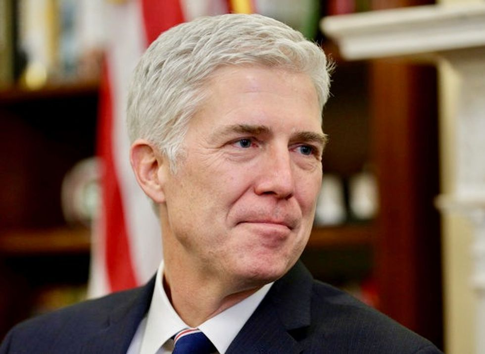Trump urges Republicans to use 'nuclear option' on Gorsuch vote if Democrats block