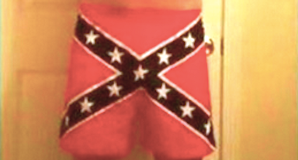 North Charleston cop fired for wearing Confederate flag boxer shorts in Facebook post