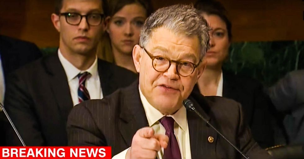 WATCH: Al Franken unloads on Ted Cruz for 'trying to impugn' his integrity in heated Senate hearing