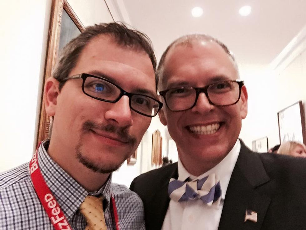 Obama tells marriage equality plaintiff James Obergefell he has changed the country