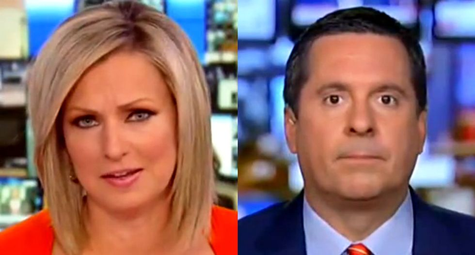 Devin Nunes humiliates himself on Fox News as he gets caught red-handed lying about Bill Barr and Mueller