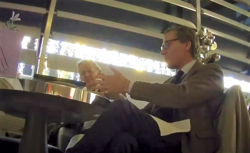 WATCH: Cambridge Analytica busted on tape discussing potentially illegal tactics used in Trump's campaign