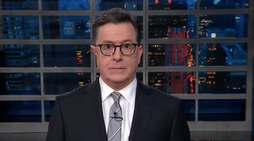 Colbert hilariously mocks Senate intel committee for avoiding question on Trump's congratulatory call to Putin