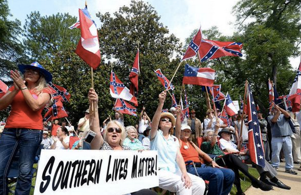 We are 'being exterminated': Twitter neo-Confederates express panic with #SouthernLivesMatter
