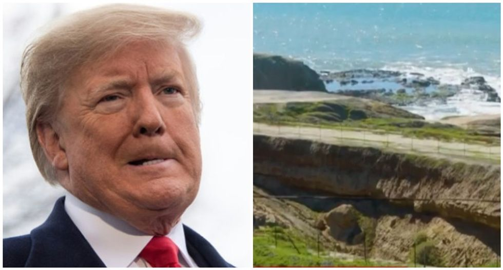 CNN blows the lid off a Trump scam that got family to pay $400,000 for a literal hole in the ground