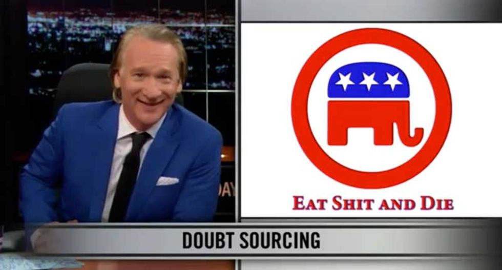Bill Maher has a message for the Republican Party: 'Eat sh*t and die'