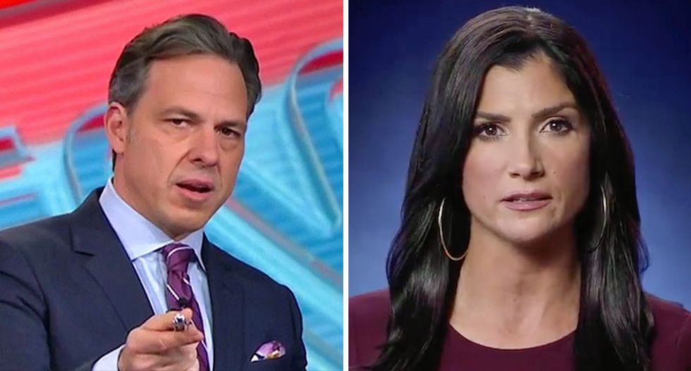 Jake Tapper shuts down NRA's Loesch for claiming CNN isn't covering hero officer who confronted Maryland school shooter