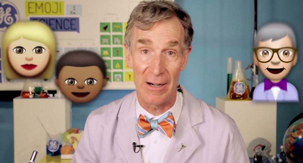 Bill Nye uses emojis to explain the mechanisms of climate change in less than two minutes