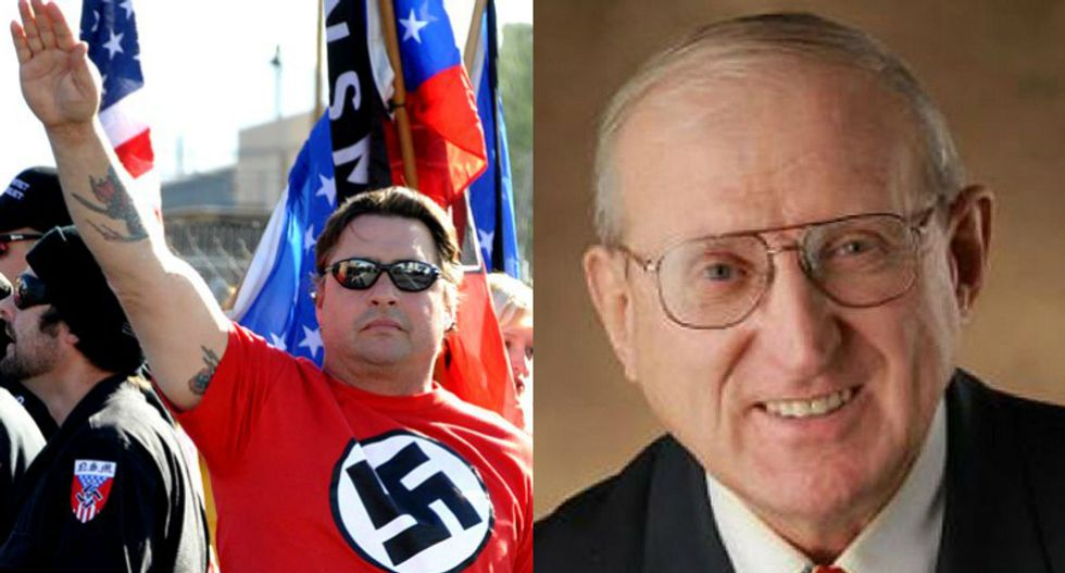 Ex-American Nazi Party leader runs unopposed for Republican congressional primary in Illinois