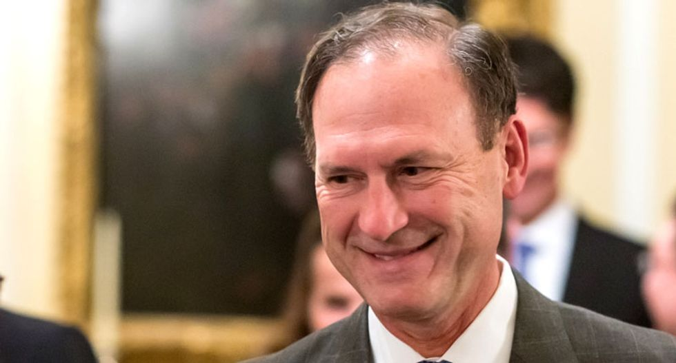 REVEALED: Justice Alito used to consult his dog Zeus on decisions -- who 'generally agreed' with him