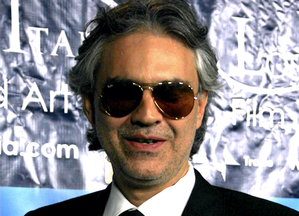 Singer Andrea Bocelli's fans threaten boycott if he performs at Trump inauguration