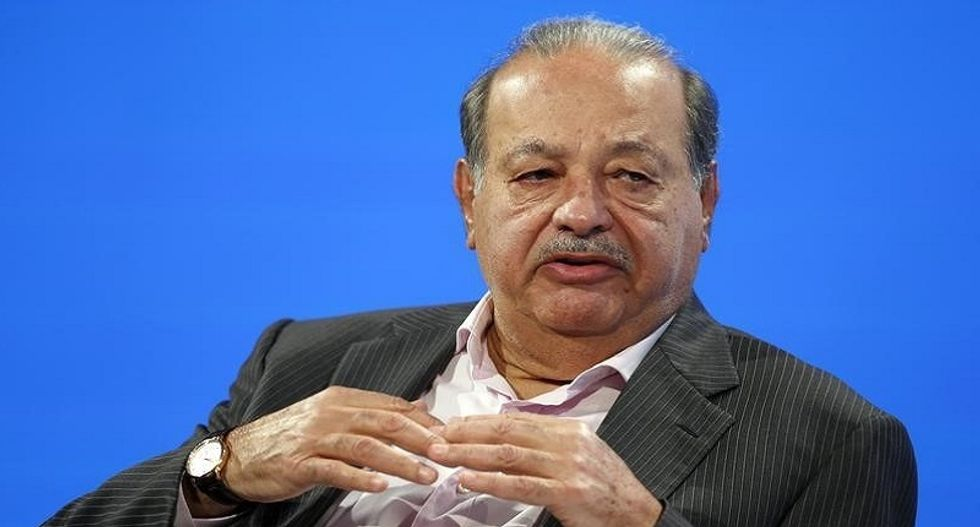 Tycoon Carlos Slim says Trump not 'Terminator,' sees opportunities for Mexico