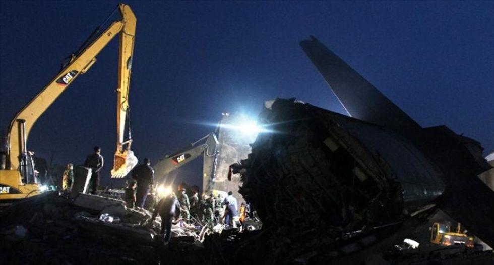 Military plane crash in Indonesia kills 141 people
