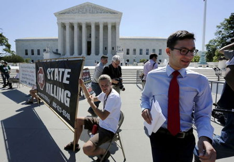 Divided U.S. Supreme Court upholds Oklahoma lethal injection process
