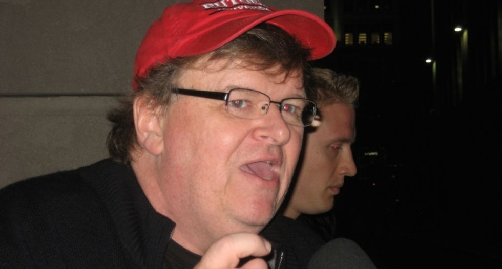 'It is not yet a free America': Michael Moore calls for renewed social activism after Charleston