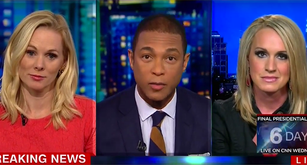 CNN's Don Lemon slams Scottie Nell Hughes: 'That is insulting as a survivor of sexual abuse'