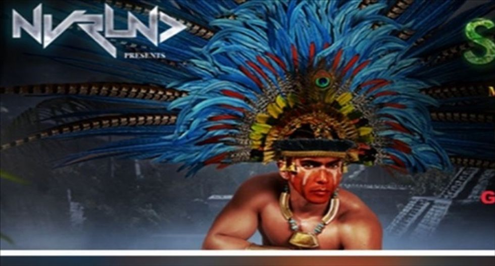 Chicago promoter blasted online after using 'Native' imagery to push 'Savages' party