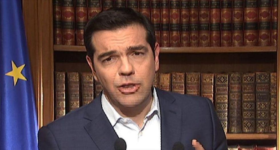 Defiant prime minster asks Greek voters to reject creditors' demands in referendum