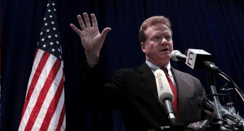 Former Democratic Senator Jim Webb announces White House campaign