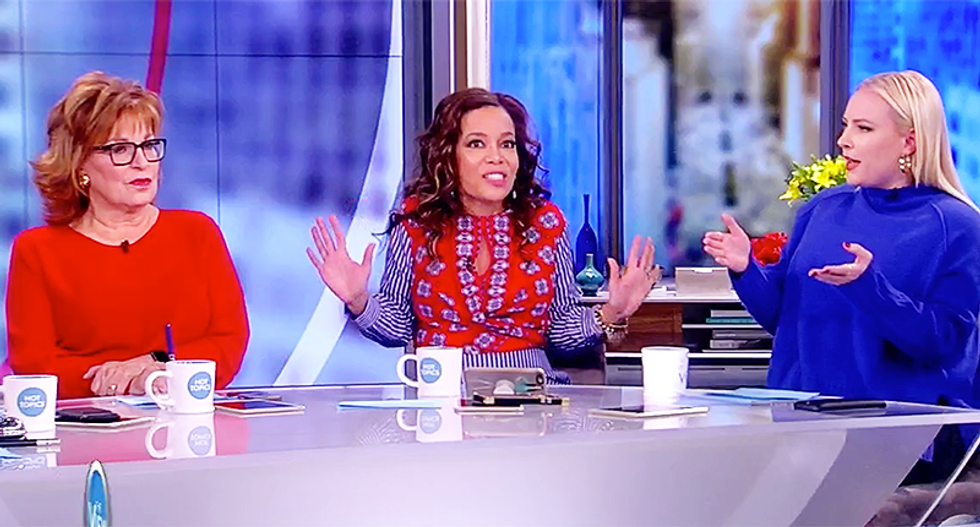 The View's Sunny Hostin calls BS on Melania Trump's cyber bullying campaign: 'She can't control it in her own home'