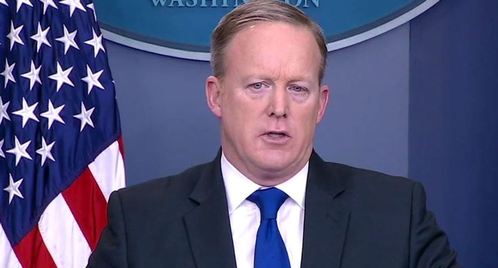 WATCH LIVE: Trump press secretary Sean Spicer holds White House briefing